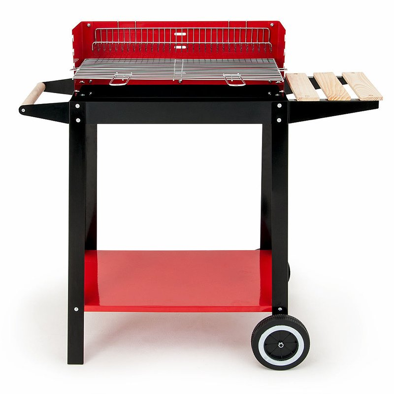Longzhao BBQ simple structure professional charcoal grill bulk supply for outdoor bbq-5
