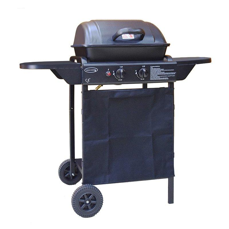 smokeless barbecue grill & gas grill