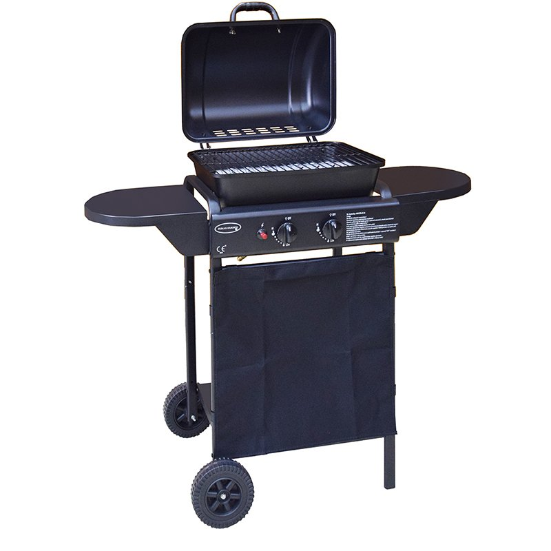 Classic 2 Burners Liquid Propane Gas Grill Patio BBQ-5