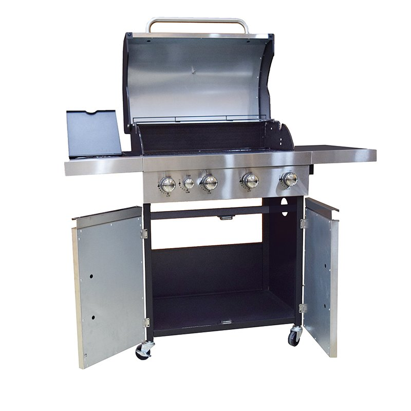 Longzhao BBQ Silver Large Base Storage Base 4+1 Burners Gas Grill Gas BBQ Grills image3
