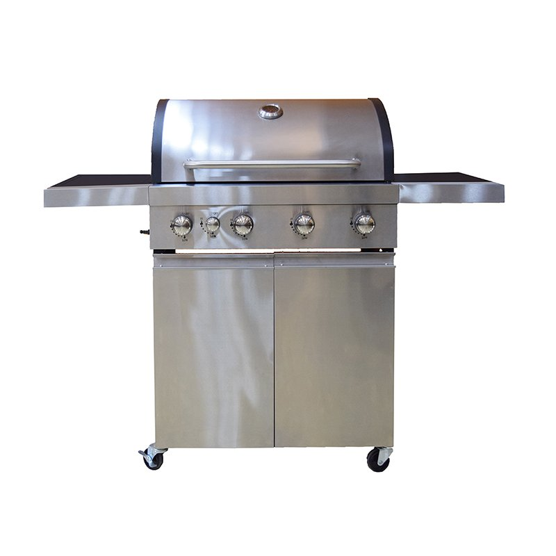 large storage bbq natural gas grill easy-operation for garden grilling-5