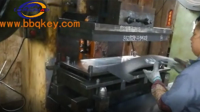 furnace body base stamping01
