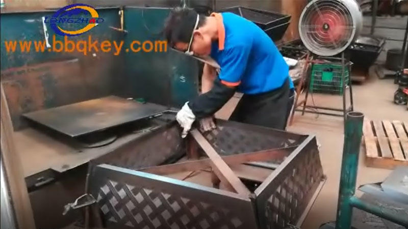 furnace body welding09