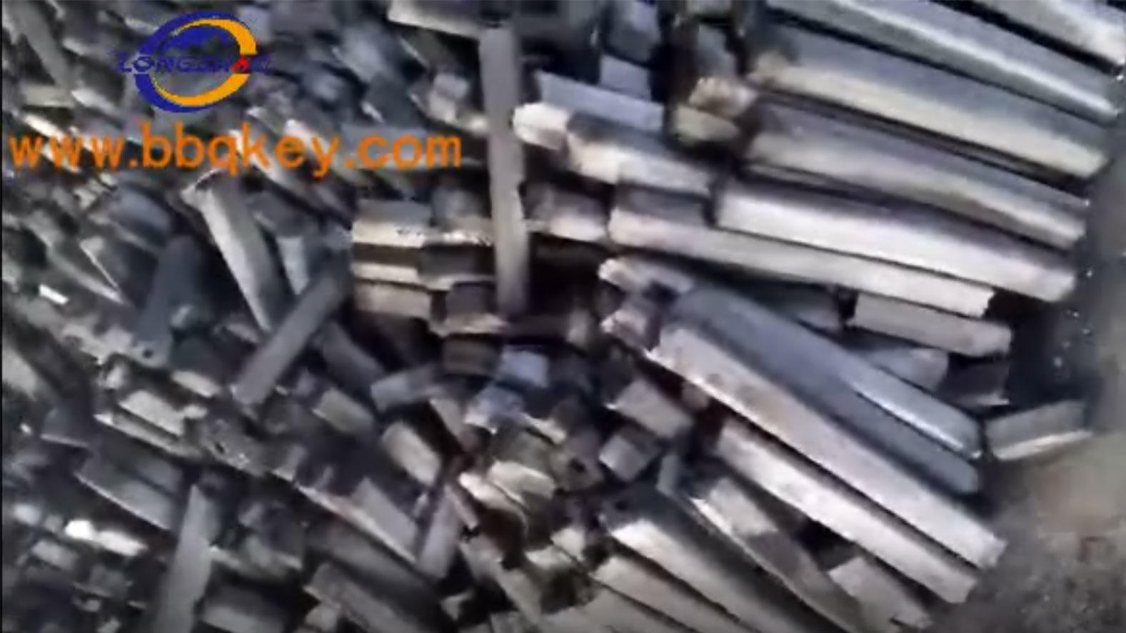 Long Burning Time Hexagonal Machine Made Wood Charcoal Briquette