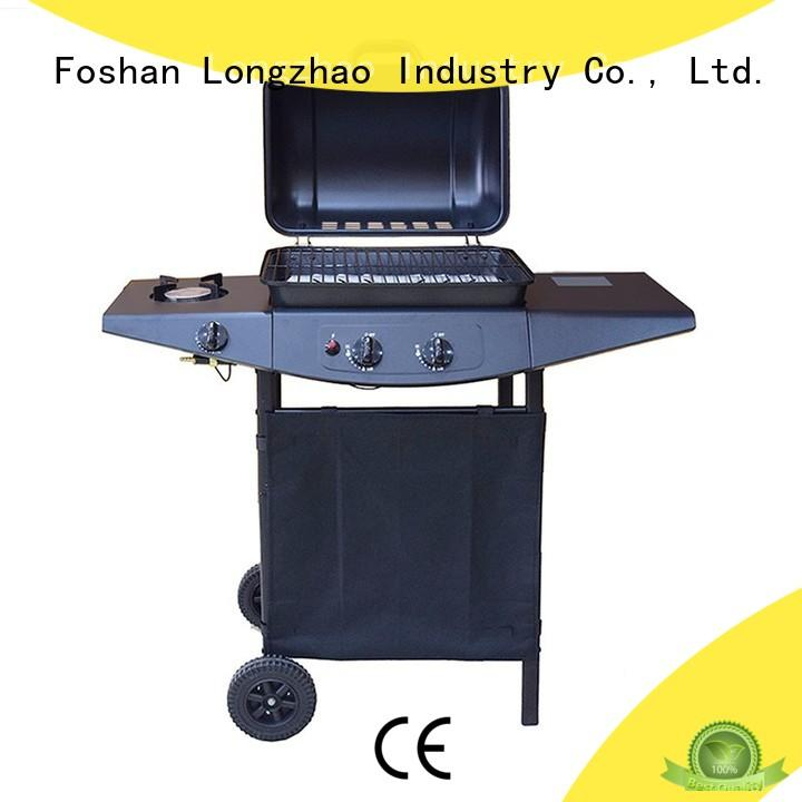 Longzhao BBQ propane portable gas grill trolley for cooking