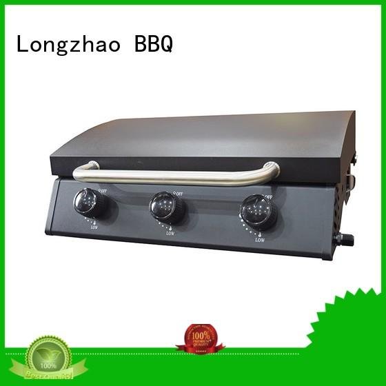 grills eco-friendly factory direct liquid Longzhao BBQ Brand best gas bbq supplier