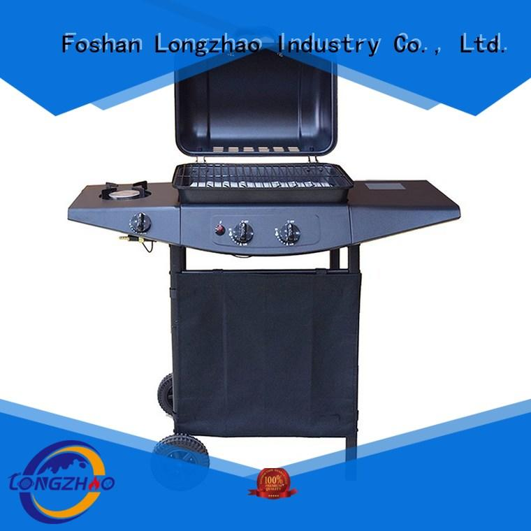 Longzhao BBQ Brand moving bbq side best gas bbq