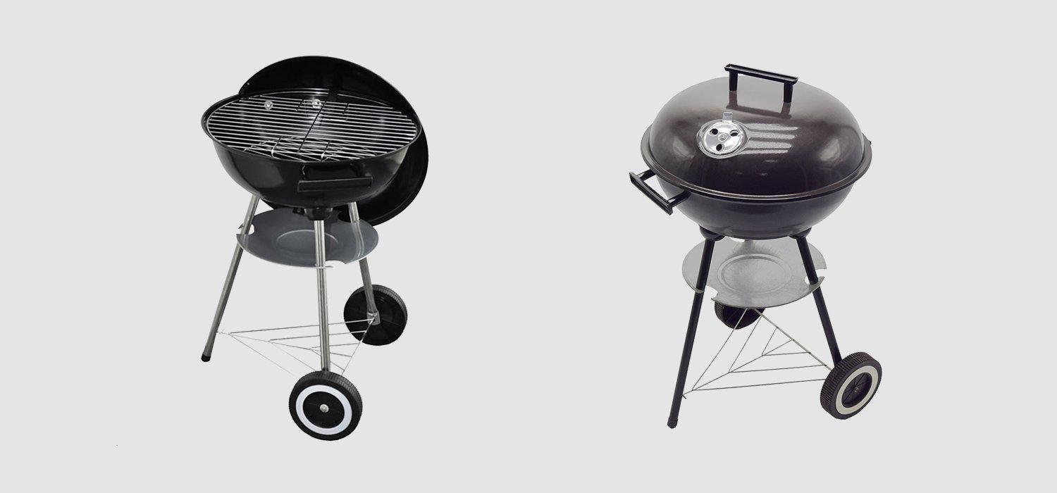 Longzhao BBQ large stainless charcoal grills factory direct supply for outdoor cooking-1
