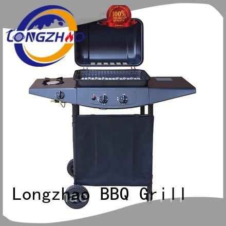 large base propane gas grill plancha for garden grilling
