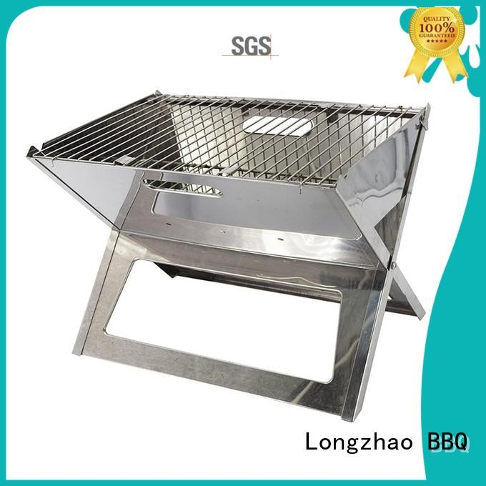Longzhao BBQ charcoal bbq pits bulk supply for camping