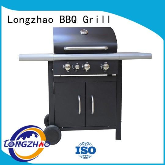side propane gas grill burners for cooking Longzhao BBQ