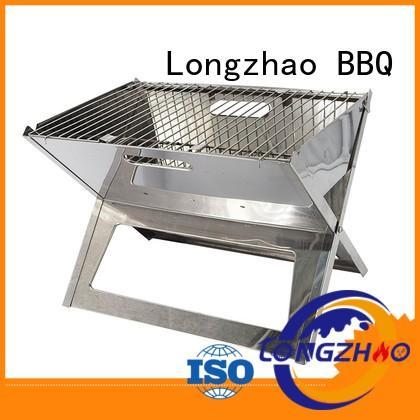 Longzhao BBQ Brand wheels low price bowl custom gas barbecue bbq grill 4+1 burner