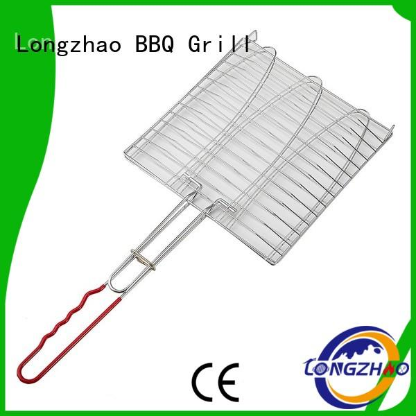 grill basket fish recipe best quality for barbecue Longzhao BBQ