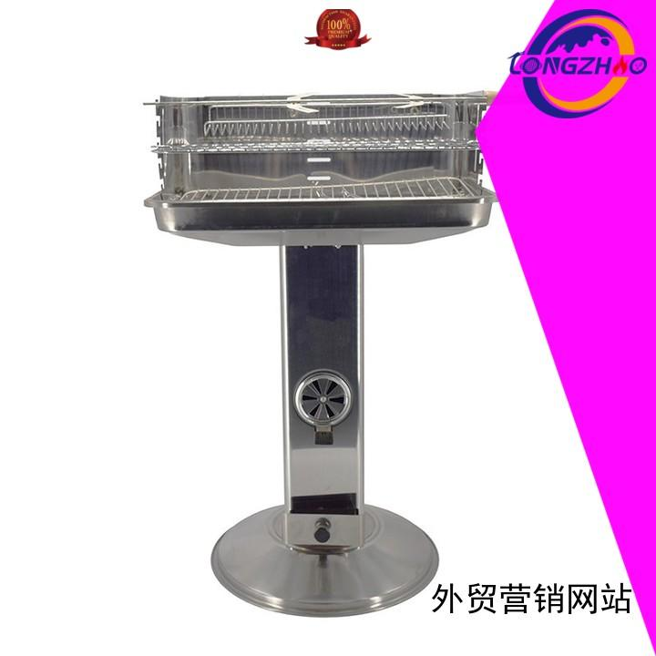 patio camping pillar best charcoal grill moving Longzhao BBQ