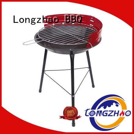 gas barbecue bbq grill 4+1 burner stainless table Longzhao BBQ Brand