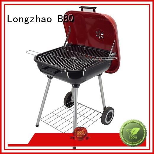 steel heavy duty bbq grill for camping Longzhao BBQ