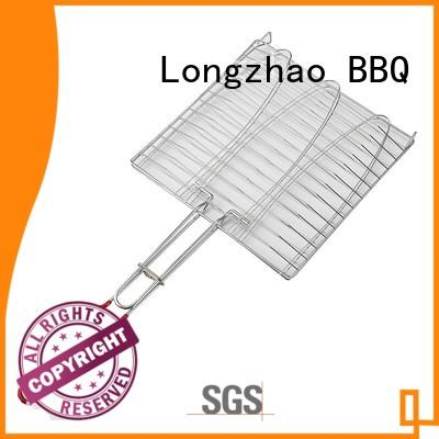Custom grill eco-friendly bbq grill basket Longzhao BBQ outdoor
