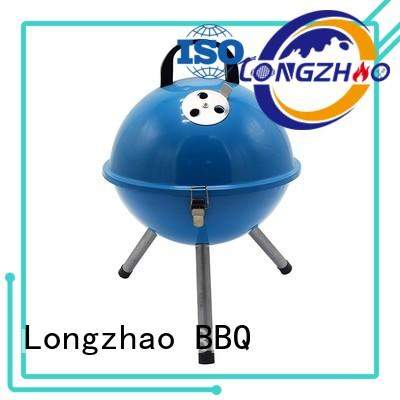 Longzhao BBQ small stainless charcoal grills bulk supply for barbecue
