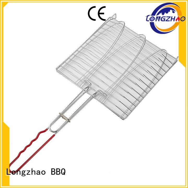 factory direct portable bbq grill basket professional Longzhao BBQ