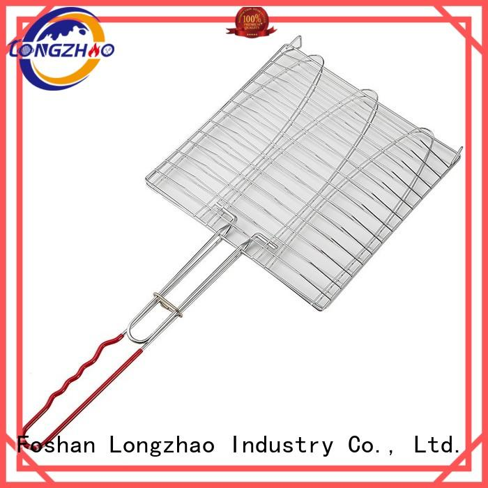 Longzhao BBQ Brand side tables grill liquid gas grill manufacture