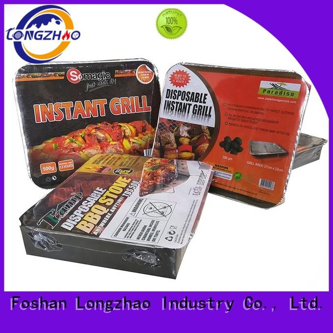 Longzhao BBQ Brand legs hot sale gas barbecue bbq grill 4+1 burner pit