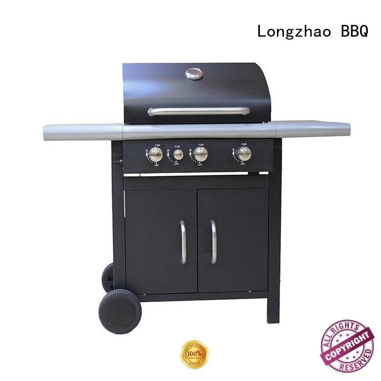 Longzhao BBQ stainless steel cheap gas grills fast delivery for garden grilling