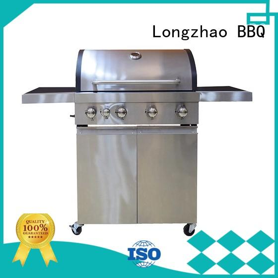 large storage bbq natural gas grill easy-operation for garden grilling