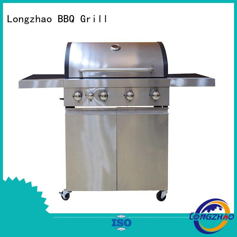 large base classic 2 burner gas grill barbecue for garden grilling