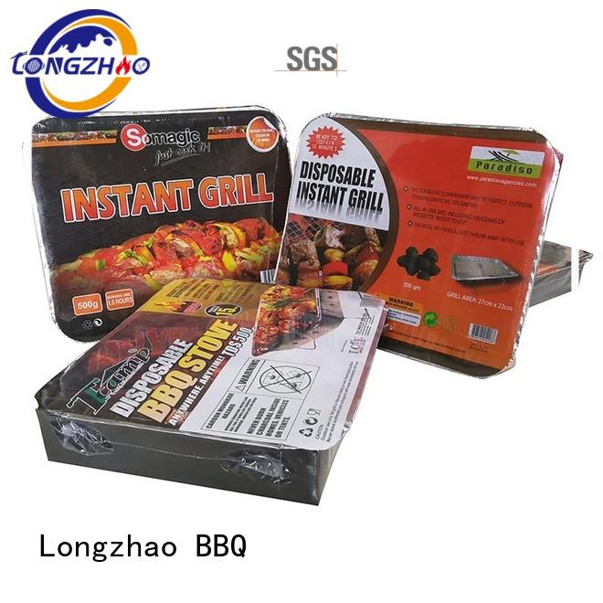 portable legs adjustable smoker Longzhao BBQ Brand liquid gas grill supplier