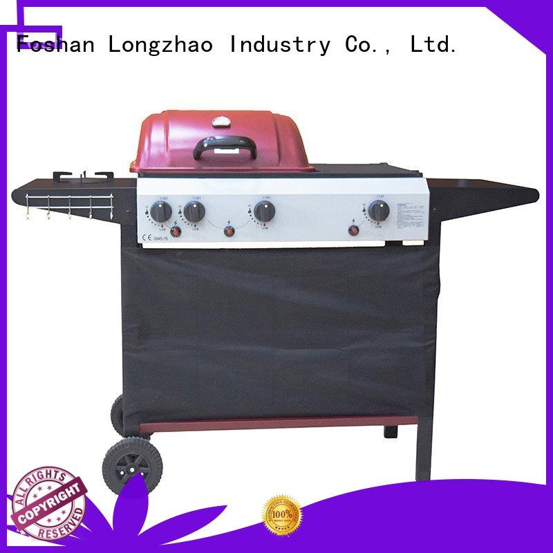 large base best gas bbq grills cast for cooking Longzhao BBQ