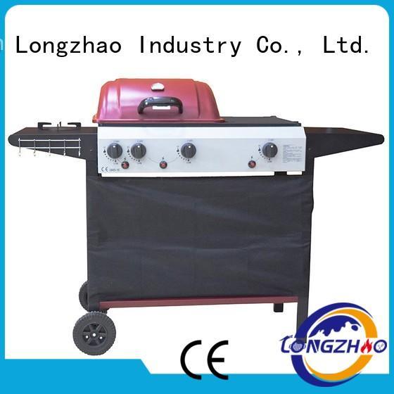 grills best gas bbq bbq half Longzhao BBQ company