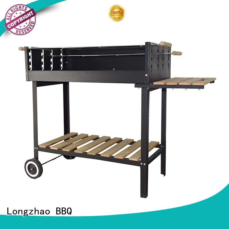 Longzhao BBQ colorful best charcoal grill factory direct supply for outdoor cooking