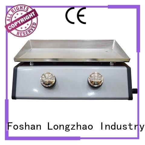 Longzhao BBQ large storage cast iron charcoal grill hood for cooking