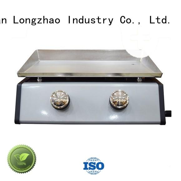 Longzhao BBQ stainless steel gas grill free shipping for garden grilling