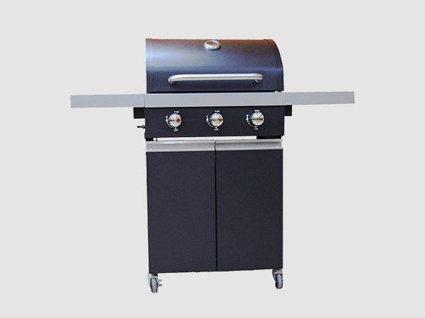 Longzhao BBQ gas grill side burner easy-operation for garden grilling-3