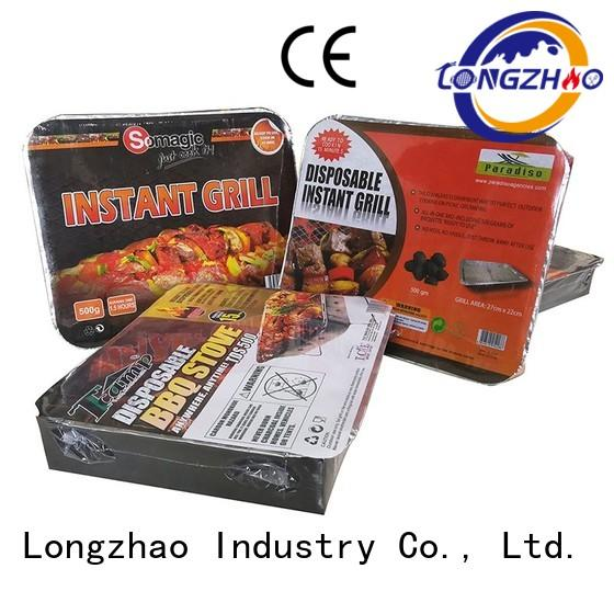 Longzhao BBQ Brand bowl foldable gas barbecue bbq grill 4+1 burner
