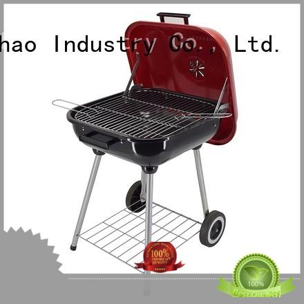 simple structure outdoor charcoal grill high qualityfor barbecue