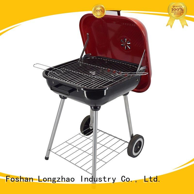 Longzhao BBQ instant wood burning fire pit with grill for outdoor bbq
