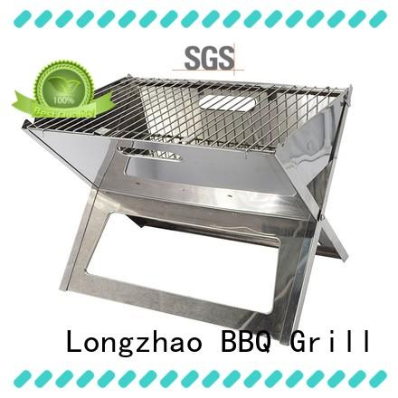 Longzhao BBQ charcoal barbecue grills high quality for camping