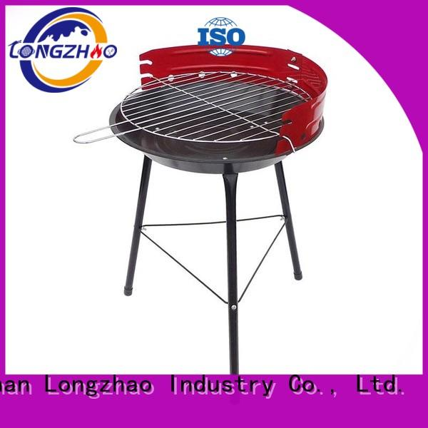 Longzhao BBQ small charcoal smoker grills factory direct supply for camping