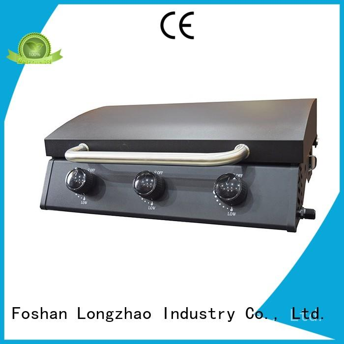 Longzhao BBQ Brand wholesale propane 2 burner gas grill table supplier