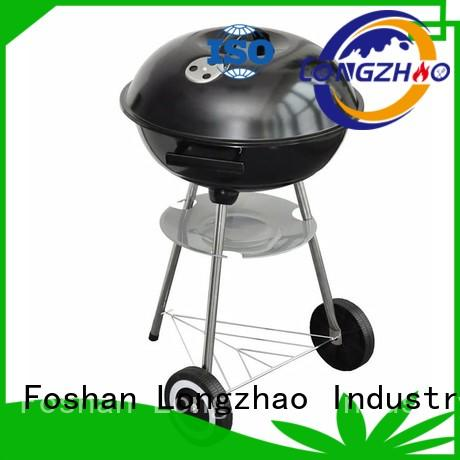 Longzhao BBQ light-weight charcoal kettle grill factory direct supply for outdoor bbq