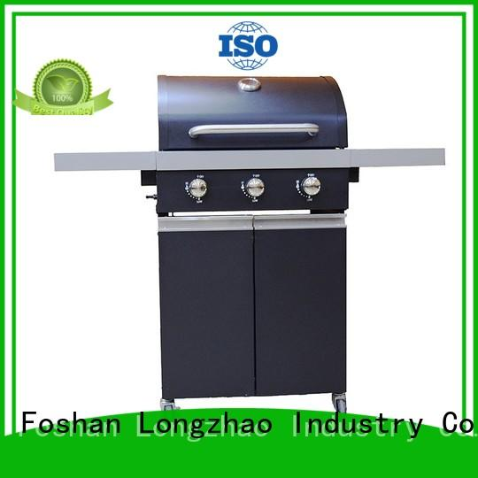 stainless steel gas charcoal grill fast delivery for cooking