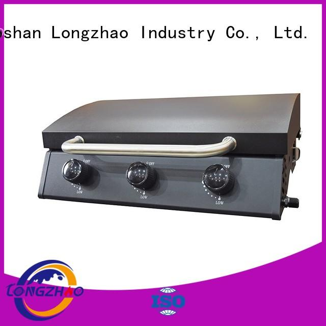 patio side low price cart liquid gas grill Longzhao BBQ