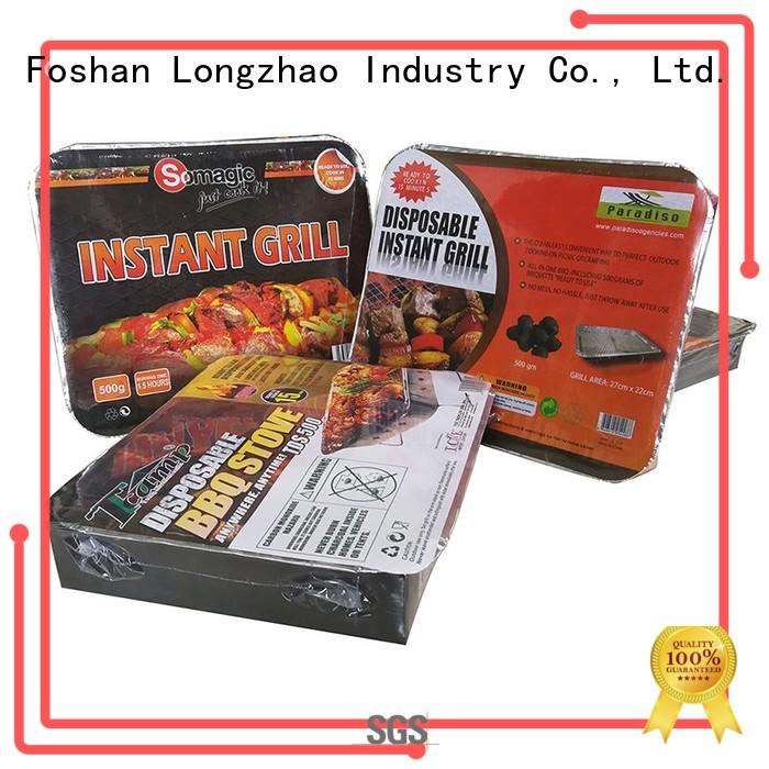 Longzhao BBQ coal bbq grill factory direct supply for barbecue