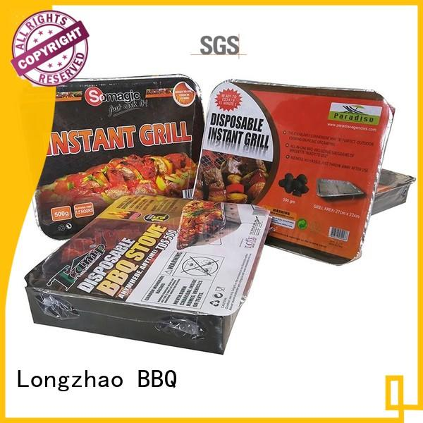 Longzhao BBQ Brand heavy best charcoal grill professional factory
