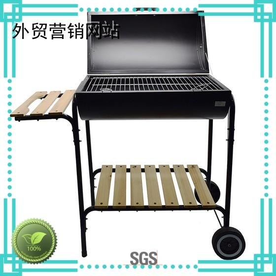 Longzhao BBQ Brand price best charcoal grill rectangular factory