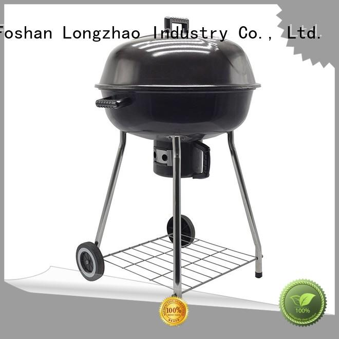 Longzhao BBQ rectangular barrel bbq grill burning for camping
