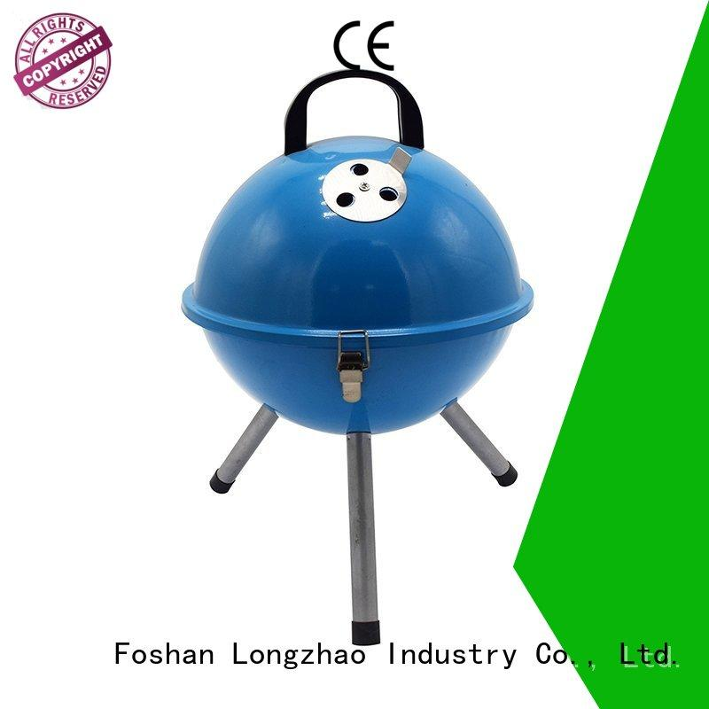 wood outdoor fire pit b&q trolley for outdoor bbq Longzhao BBQ