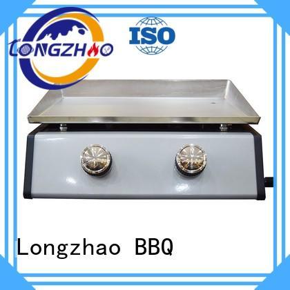 Custom patio outdoor liquid gas grill Longzhao BBQ tables